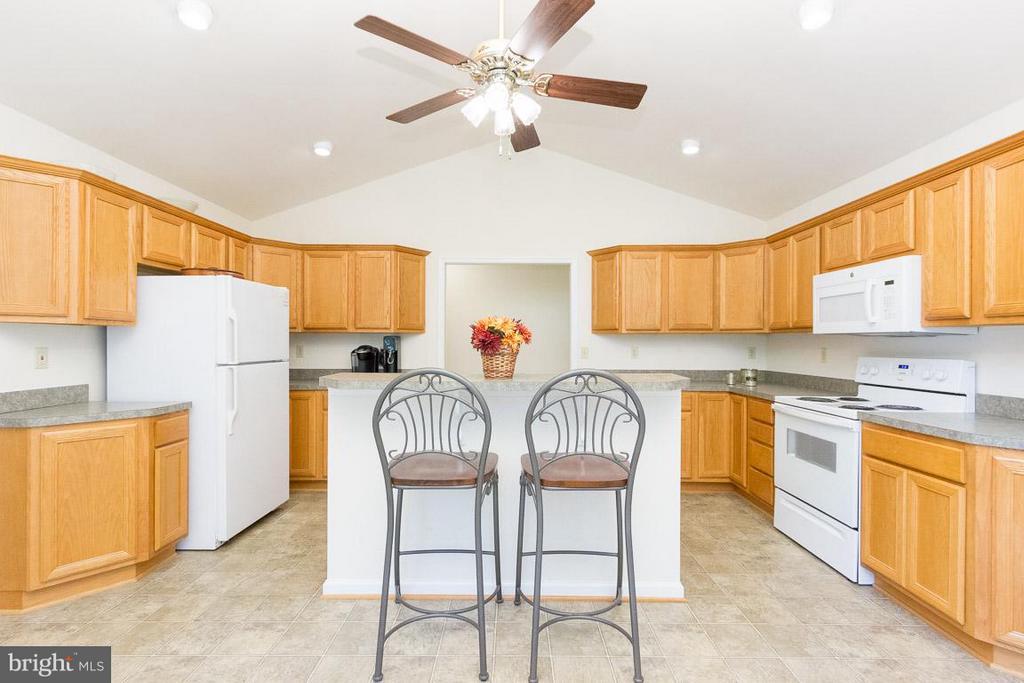 Kitchen with Sink Island - 309 BIRDIE RD, LOCUST GROVE