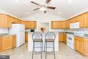 Kitchen with Sink Island - 309 BIRDIE RD, LOCUST GROVE