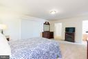 Spacious Master Bedroom - 309 BIRDIE RD, LOCUST GROVE