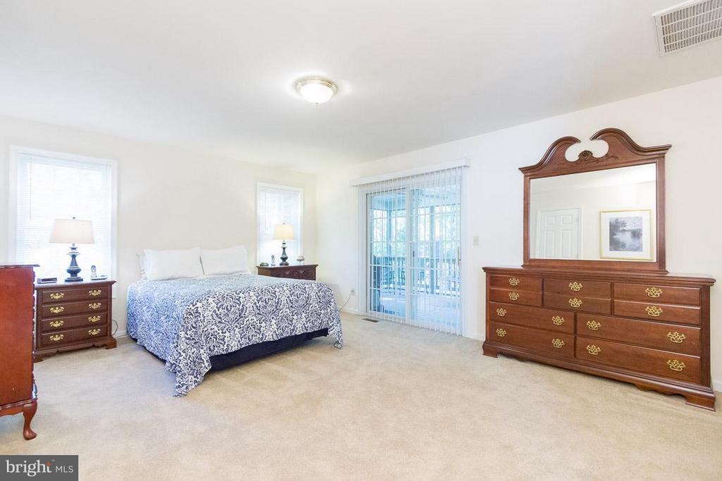 Bedroom (Master) slider to Porch - 309 BIRDIE RD, LOCUST GROVE