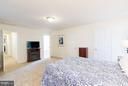 Bedroom (Master) view to hall & Mba - 309 BIRDIE RD, LOCUST GROVE
