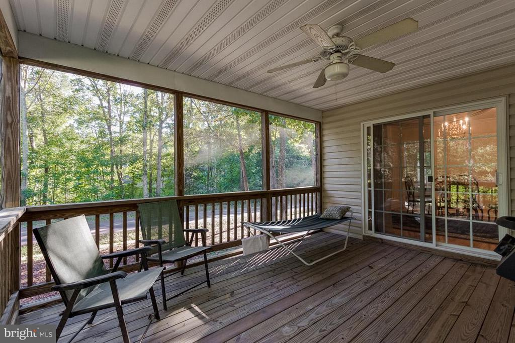 Added Living Screen Porch - 309 BIRDIE RD, LOCUST GROVE