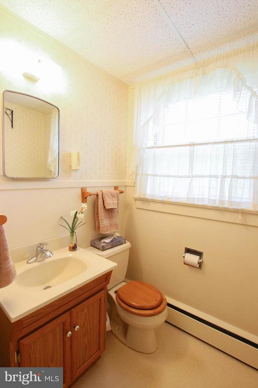 Half bath - 831 W HOLLY LN, PURCELLVILLE
