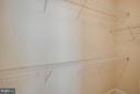 Bedroom (Master) Walk-In Closet - 2308 MERSEYSIDE DR #113, WOODBRIDGE