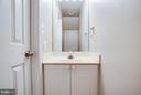 Main Level Half Bath - 108 BRENWICK CT, STAFFORD