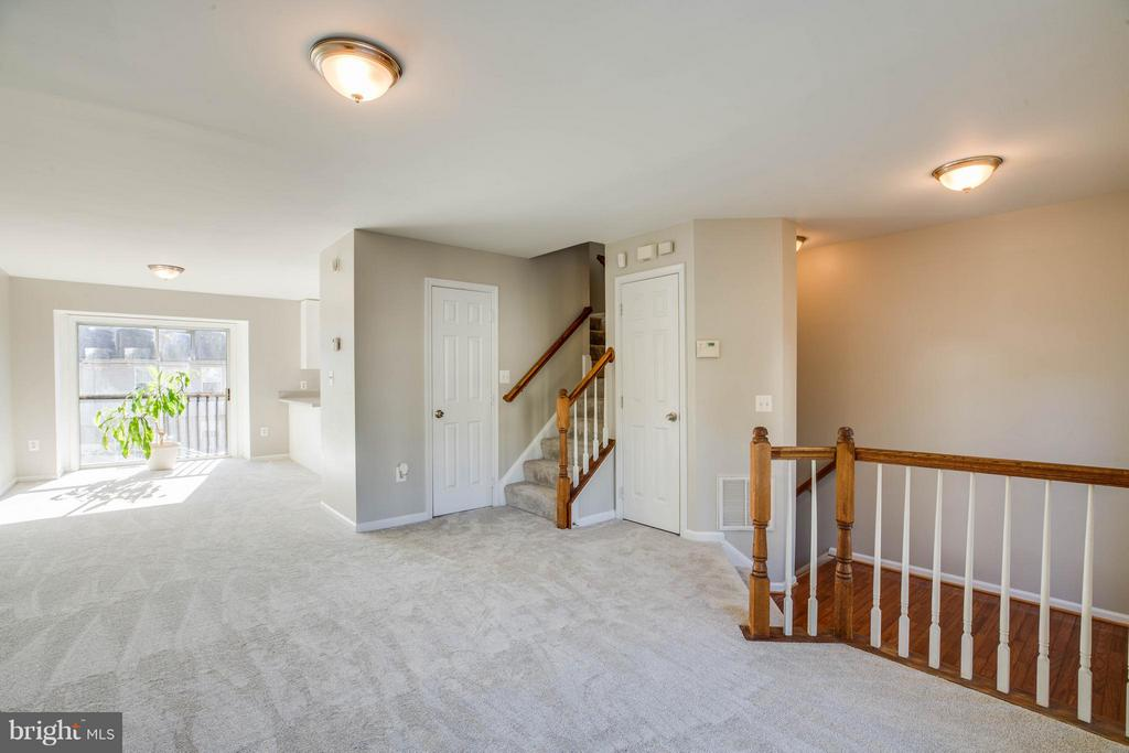 View of Main Level - 108 BRENWICK CT, STAFFORD