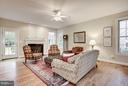 Comfortable family room off of kitchen. - 1956 VERMONT ST N, ARLINGTON