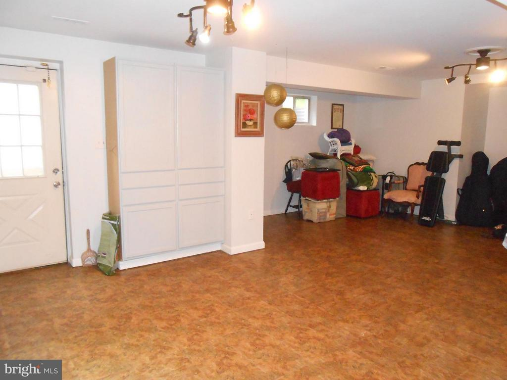 Recreation Room - Door to walk-up Stairs - 10210 BENS WAY, MANASSAS