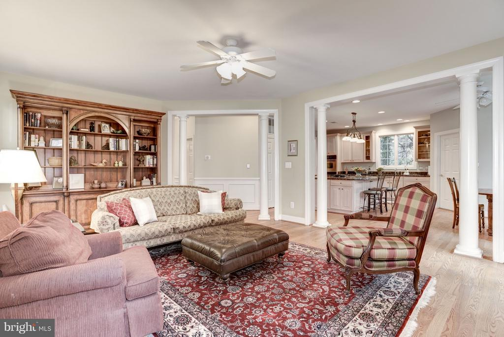 The family room is open to the kitchen. - 1956 VERMONT ST N, ARLINGTON