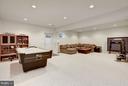 Fully finished basement. - 1956 VERMONT ST N, ARLINGTON