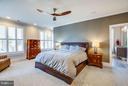 Bedroom (Master) - 425 WILLIAM ST #301, FREDERICKSBURG