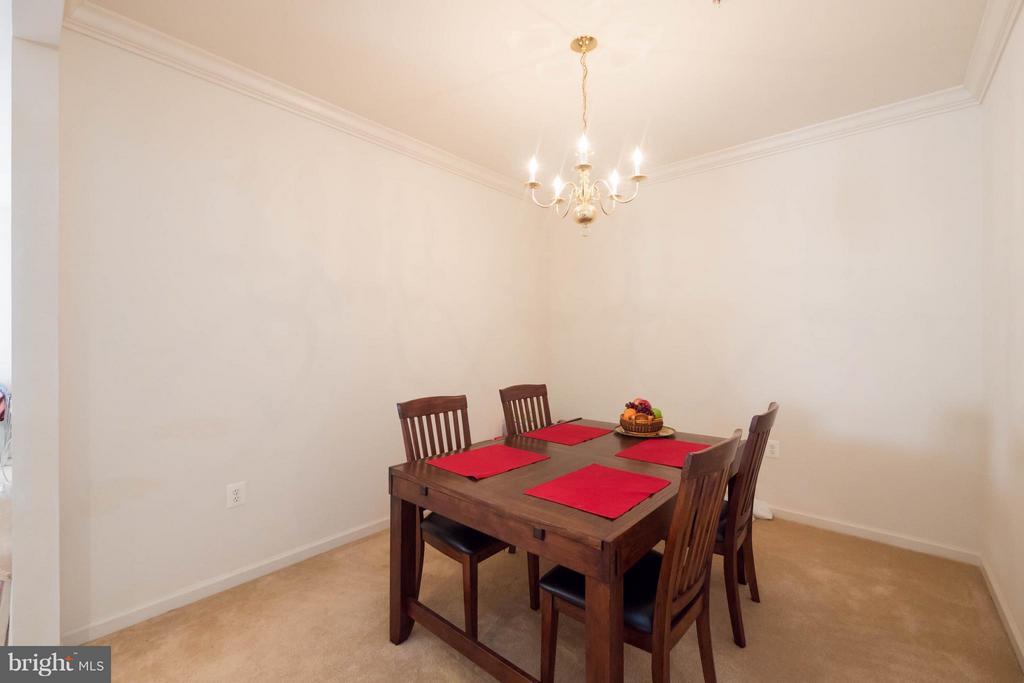 Dining Room - 66 ASPEN HILL DR #66, FREDERICKSBURG