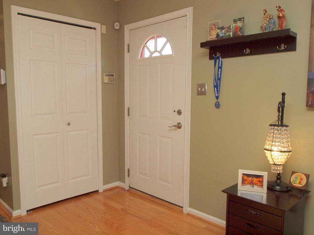 Coat Closet by Entry - 14388 HAVENER HOUSE CT, CENTREVILLE