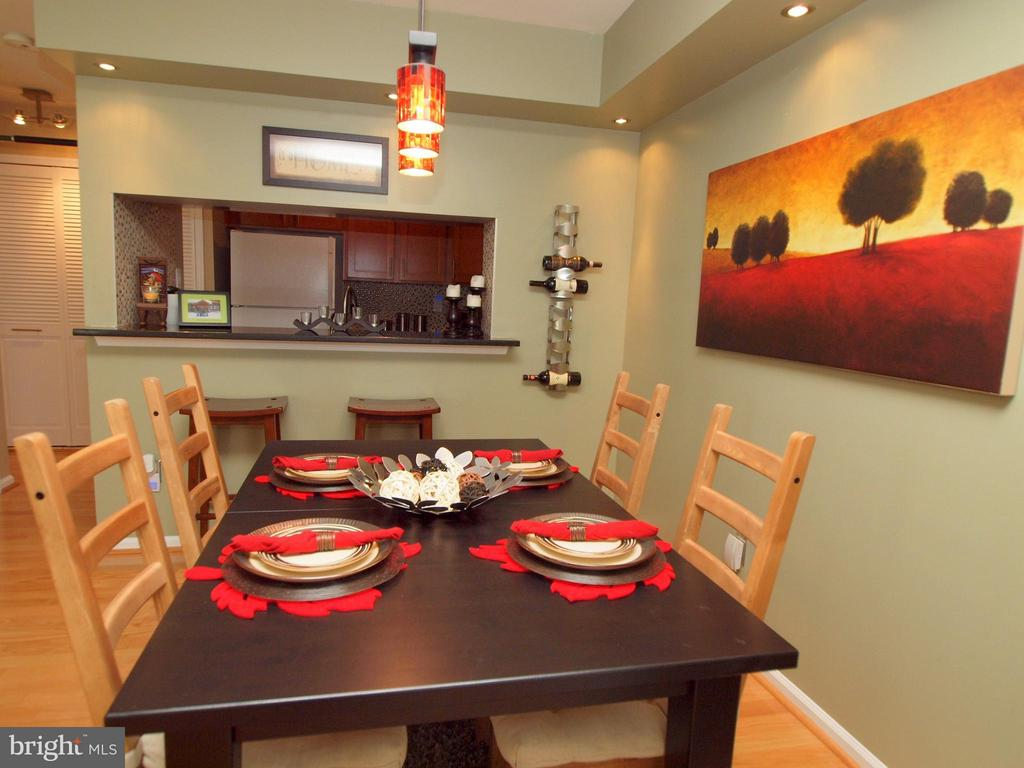 Well Lit Dining Area - 14388 HAVENER HOUSE CT, CENTREVILLE