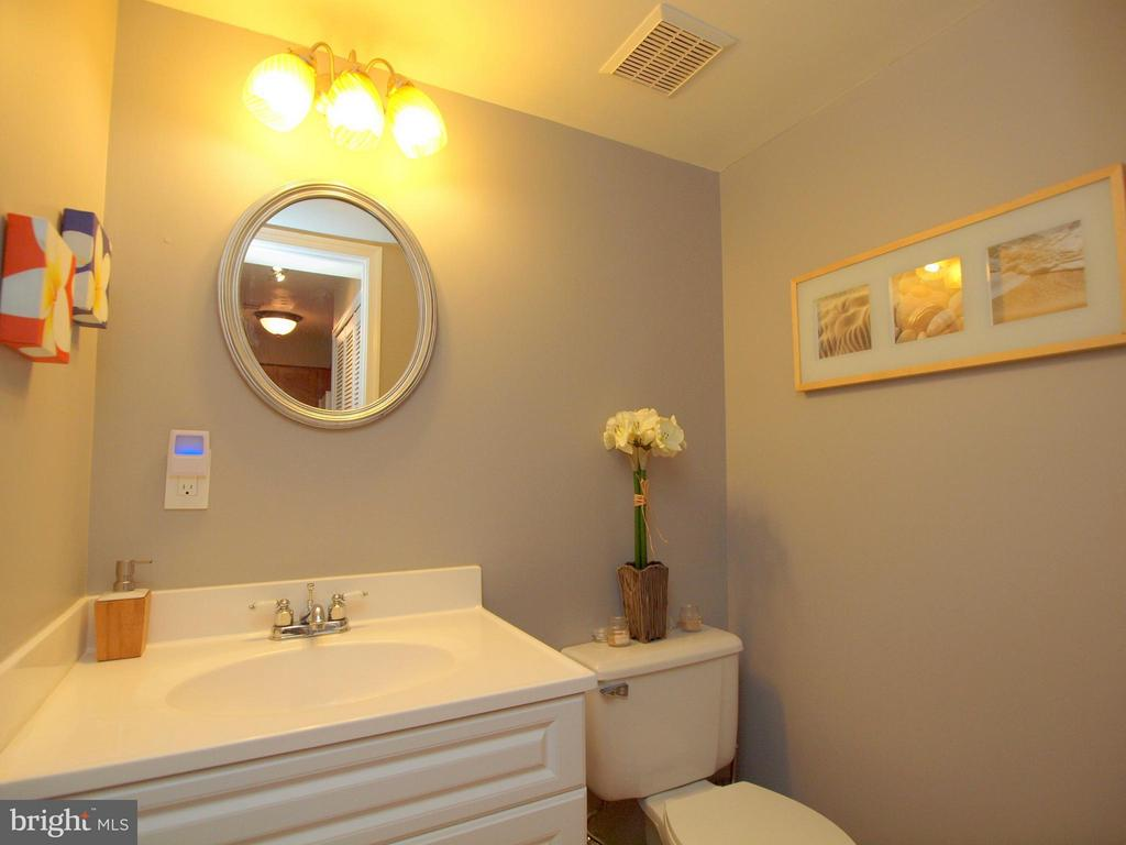 Half bath on main level - so important to have ;) - 14388 HAVENER HOUSE CT, CENTREVILLE