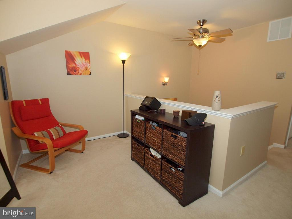Sitting area off this master bedroom - 14388 HAVENER HOUSE CT, CENTREVILLE