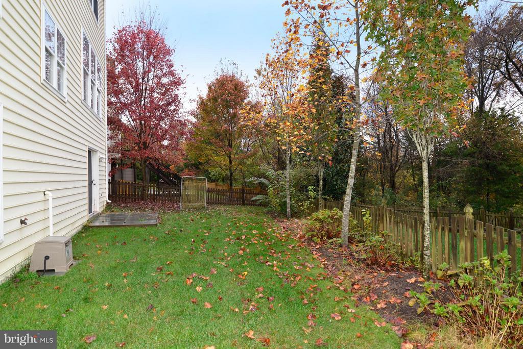 Fenced back yard! - 21934 WINDOVER DR, BROADLANDS