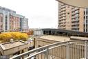Balcony View - 11990 MARKET ST #401, RESTON