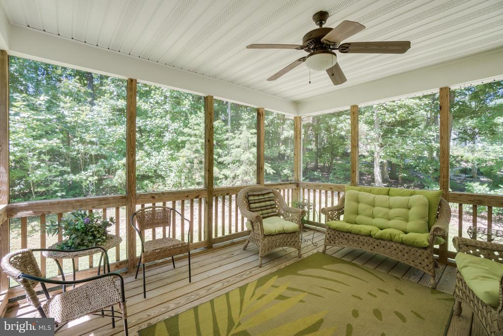 Screen Porch - 11704 BLEASDELL DR, SPOTSYLVANIA