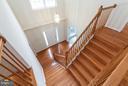 Foyer & Stairwell w/Wood Flooring - 9311 EAGLE CT, MANASSAS PARK
