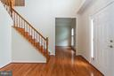 Spacious Foyer w/New Wood Floors - 9311 EAGLE CT, MANASSAS PARK