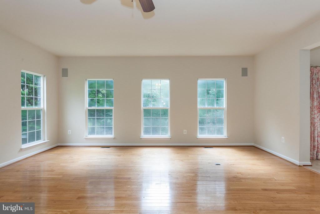 Family Room w/Wood Floors - 9311 EAGLE CT, MANASSAS PARK