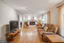 Living Room has gleaming hardwood floors - 1103 EASTOVER PKWY, LOCUST GROVE