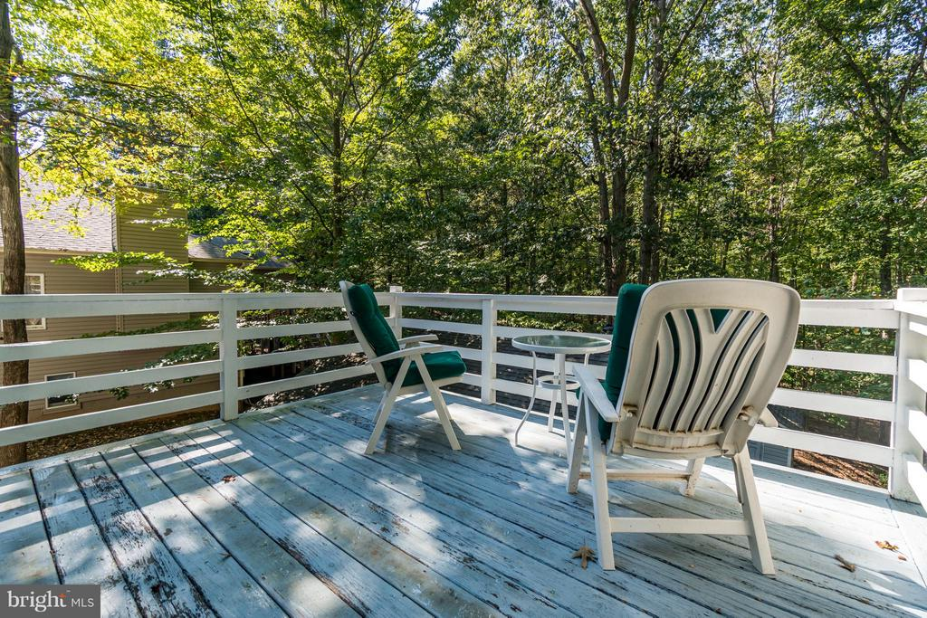 Sit on your deck off the master bedroom - 1103 EASTOVER PKWY, LOCUST GROVE