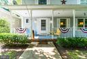 Great front porch - 1103 EASTOVER PKWY, LOCUST GROVE