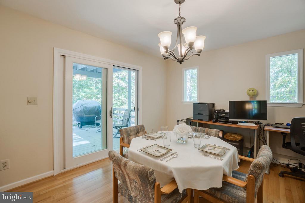 Dining Room has doors to deck - 1103 EASTOVER PKWY, LOCUST GROVE