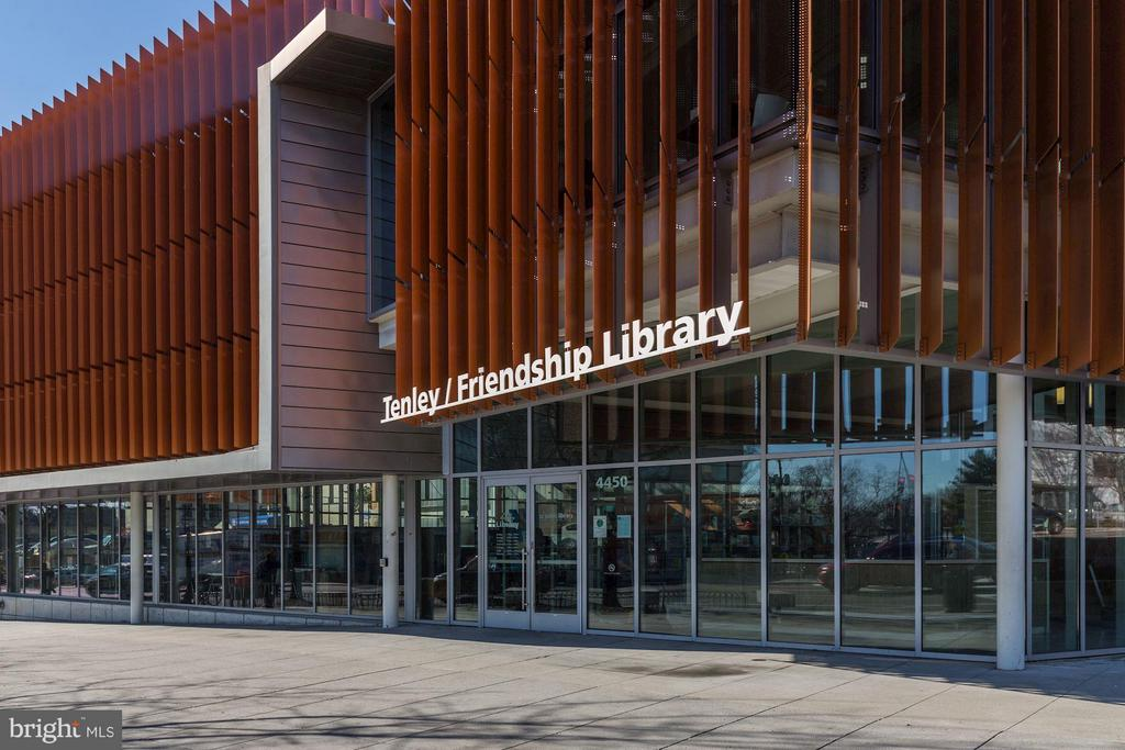 Friendship Library - 3837 ALBEMARLE ST NW, WASHINGTON