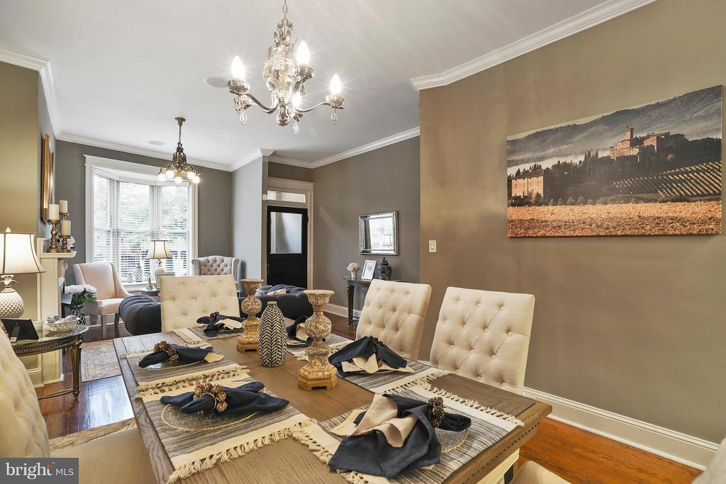 Comfortable Living and Dining - 1447 FLORIDA AVE NW, WASHINGTON