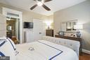 Master Bdrm with Lg Windows, Closet & Ceiling Fan - 1447 FLORIDA AVE NW, WASHINGTON