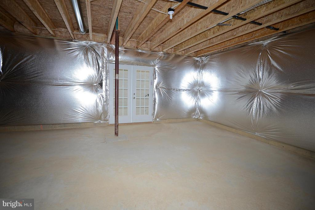 Unfinished Basement - 3558 CLINTON ROSS CT #4, TRIANGLE