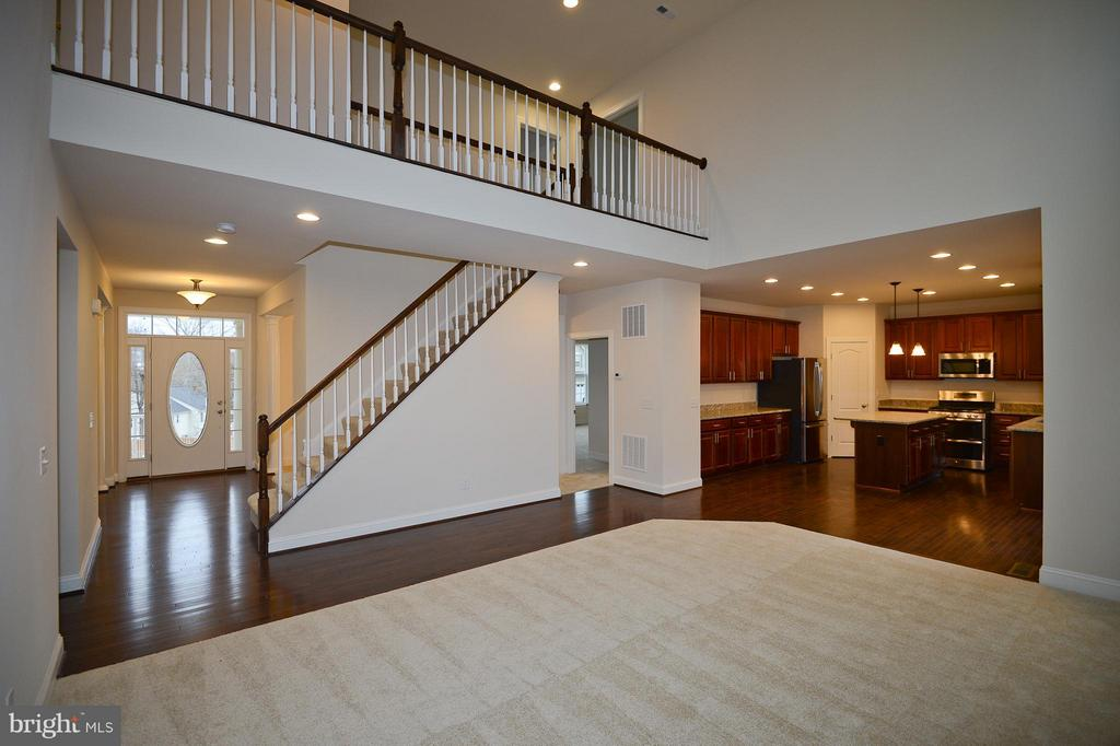 Two Story Family Room - 3558 CLINTON ROSS CT #4, TRIANGLE