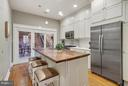 Gourmet Kitchen with Top of the Line Appliances - 1447 FLORIDA AVE NW, WASHINGTON