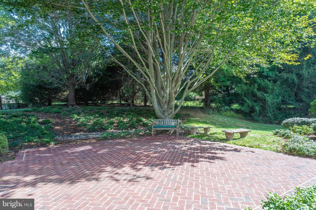 Brick Patio beside pool area - 10431 NEW ASCOT DR, GREAT FALLS