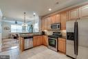 Kitchen - 43594 HAMPSHIRE CROSSING SQ #0, LEESBURG
