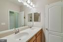 2nd Full Bath - dual vanity - 43594 HAMPSHIRE CROSSING SQ #0, LEESBURG