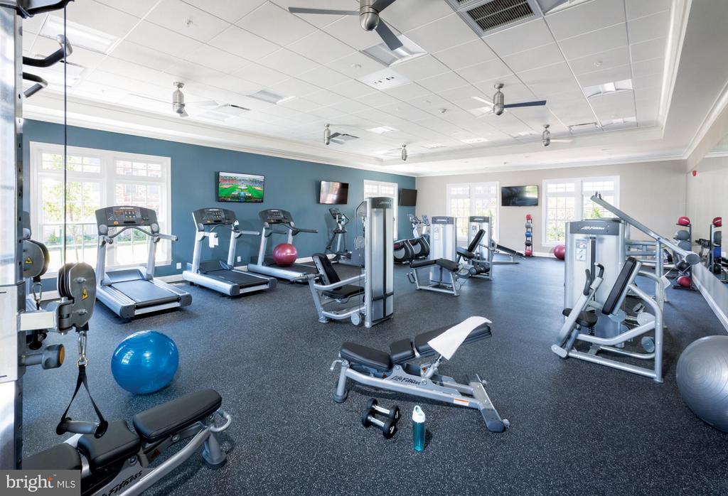 Community Fitness Gym - 22683 NAUGATUCK SQ, ASHBURN