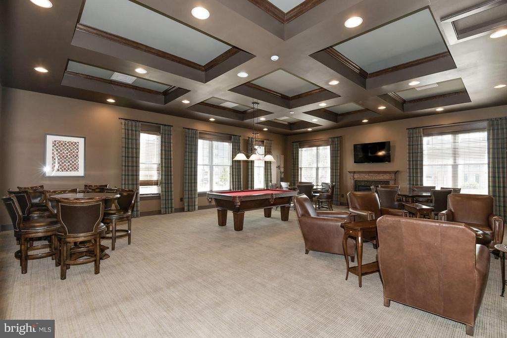 Community Clubhouse Game Room - 21025 ROCKY KNOLL SQ #201, ASHBURN