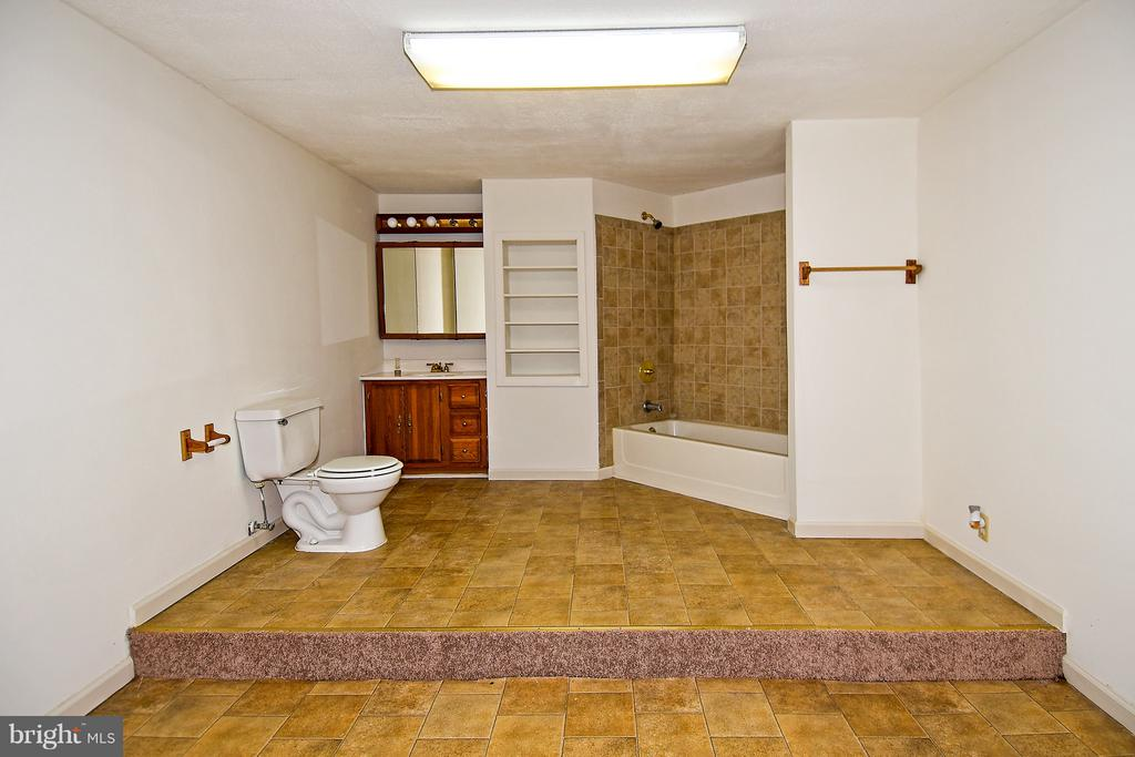 Lower Level bathroom - 18514 CABIN RD, TRIANGLE