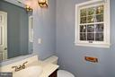 Powder Room - 18514 CABIN RD, TRIANGLE