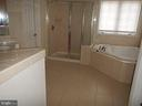 Master Bath with Soaking Tub & Separate Shower - 819 ROYAL CRESCENT CRES, ROCKVILLE