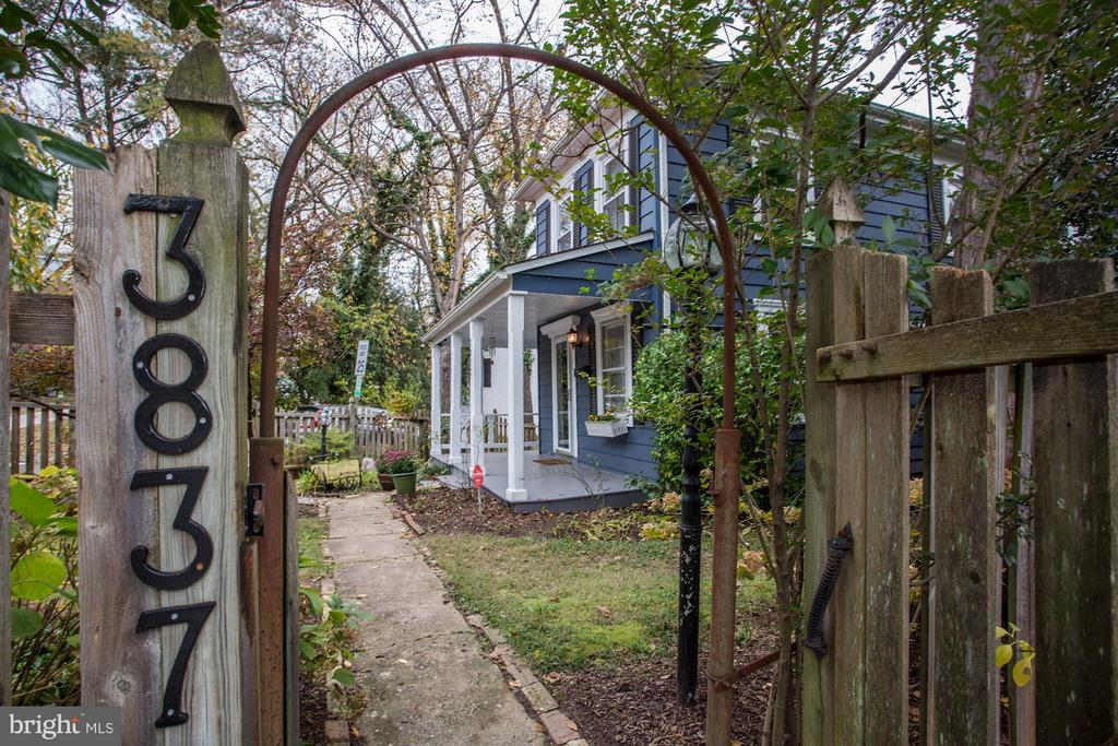 Exterior Side Albemarle Street - 3837 ALBEMARLE ST NW, WASHINGTON
