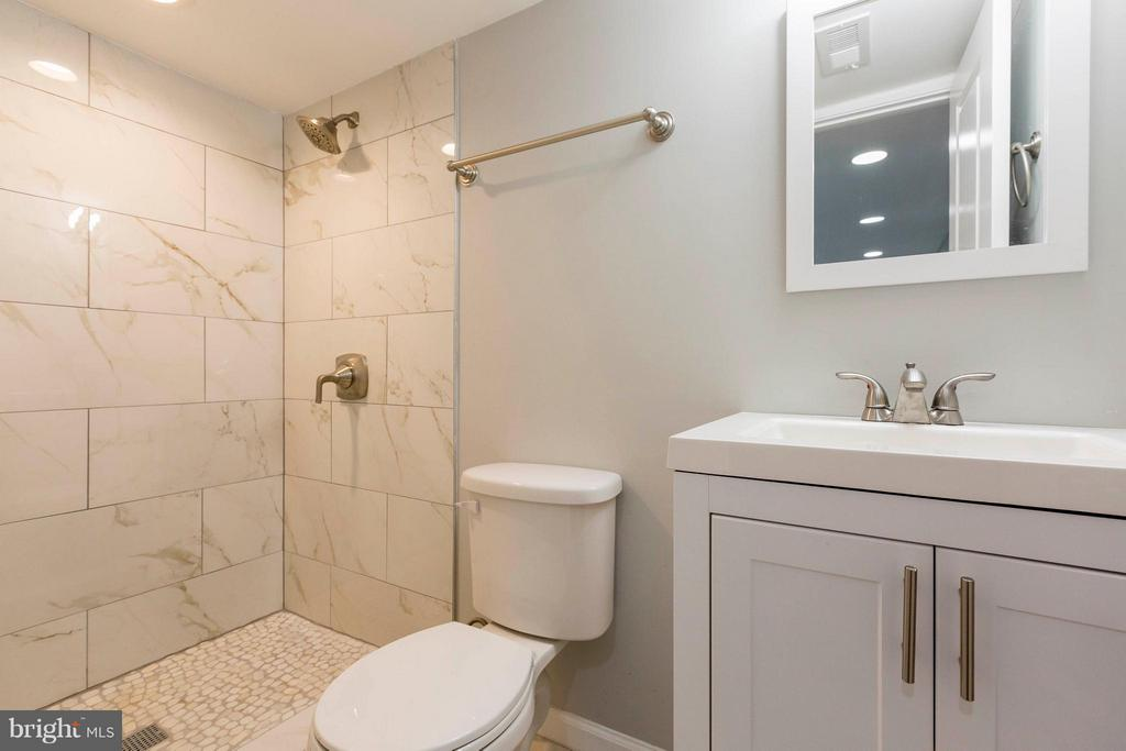 Lower Level Full Bathroom - 4479 C ST SE, WASHINGTON
