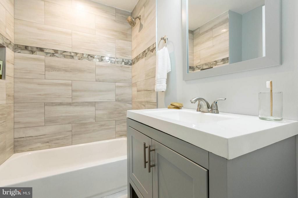 Full Bathroom for Bedroom #2 - 4479 C ST SE, WASHINGTON