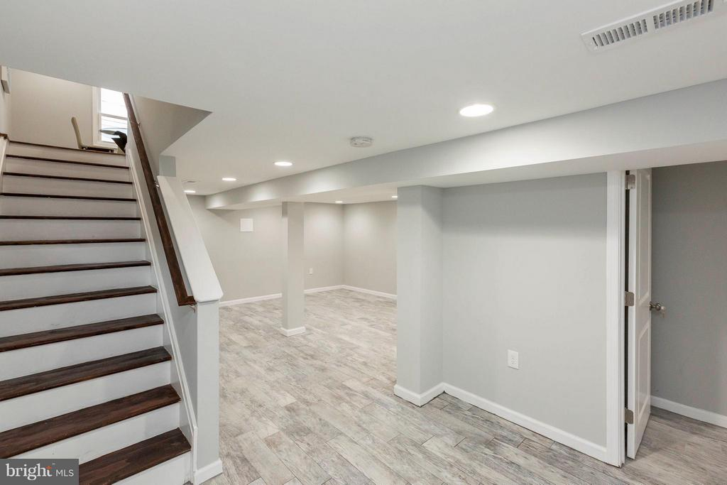 Lower Level w/Rec Rm, Wet Bar, BDR #4 + Full BA - 4479 C ST SE, WASHINGTON