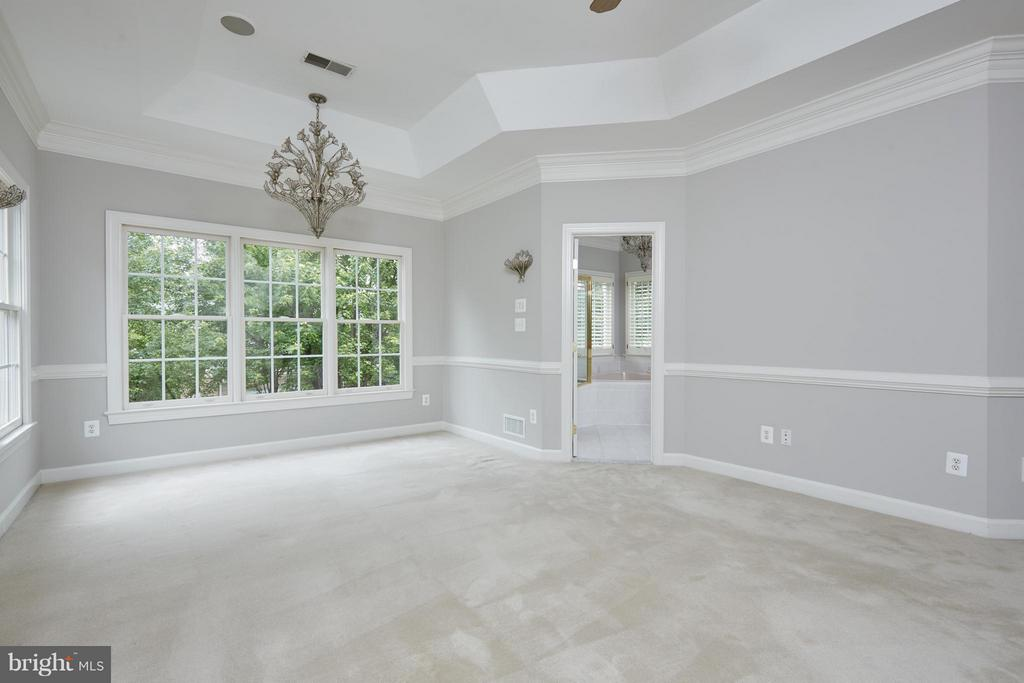 Master Bedroom Features Tray Ceiling - 3860 FARRCROFT DR, FAIRFAX
