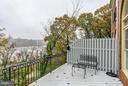 Back deck has river and Georgetown views as ell. - 2215 N OAK CT, ARLINGTON